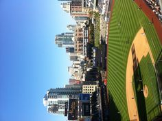Petco park #sandiego. View of downtown San Diego