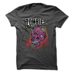 Zombies T Shirts, Hoodies, Sweatshirts. GET ONE ==> https://www.sunfrog.com/Zombies/Zombies-55341938-Guys.html?41382