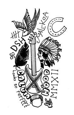 calum tattoos