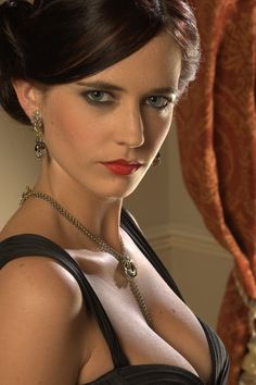 Eva Green born 6 July, 1980 (age in Paris, France. She is famous French actress and model best known as Eva Green. Eva Green Casino Royale, Beautiful Celebrities, Most Beautiful Women, Best Bond Girls, Actress Eva Green, Isabelle Adjani, Casino Dress, Olivia De Havilland, Actrices Hollywood