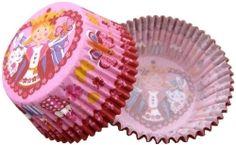 Formičky na muffiny a cupcakes 50ks č. Muf-38 princezna žába