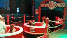 Bubbleworks, in the Transylvania area of the Theme Park, at Chessington World of Adventures Resort Sea Life Centre, Adventure Resort, Planet Coaster, The Gruffalo, Family Days Out, Cool Themes, Water Slides, Amusement Park, Attraction