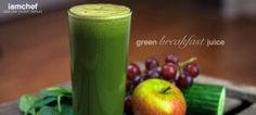 Green Breakfast Juice Recipe