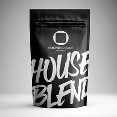 RoundSquare - #coffee roastery and #bar #Packaging design