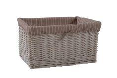 Hamptons White Storage Basket - Extra Large RRP $79