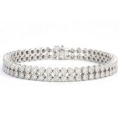twin row diamonds $2 million bracelet