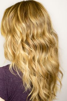 wavy hair how-to