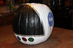 astronaut painted pumpkin - Google Search