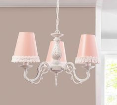 Romantic hanglamp meisjes kamer accessoires meisjeskamer accessoires babykamer roze lichte kinderkamer by mm store Kids And Parenting, Chandelier, Ceiling Lights, Lighting, Cheryl, Home Decor, Van, Google, Shabby Chic