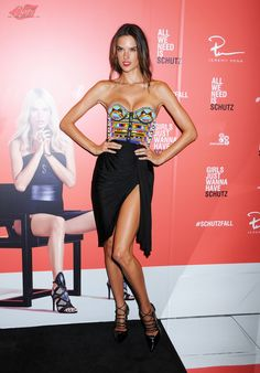 Alessandra Ambrosio attends the SCHUTZ AW14 Campaign Celebration at Schutz on September 4, 2014 in New York City