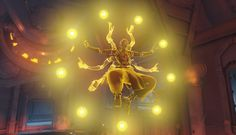 Image for Overwatch Zenyatta Video Game HD Wallpaper