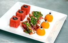 Proscuitto with Melon