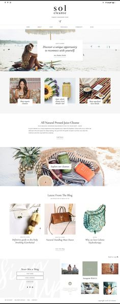 Showcase — Station Seven: Squarespace Templates, WordPress Themes, and Free Resources for Creative Entrepreneurs Blog Design, Web Design Inspiration, Menu Design, Wordpress Template, Wordpress Theme, Entrepreneur, Wordpress Website Design, Ecommerce Solutions, Best Web Design