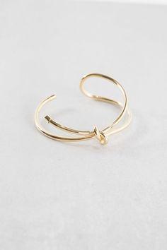 Lovoda - Folded Knot Cuff Bracelet, $18.00 (https://www.lovoda.com/folded-knot-cuff-bracelet/)