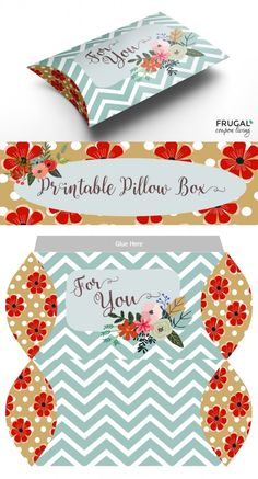 valentine-pillow-box-printable-collage-frugal-coupon-living Diy Gift Box, Diy Box, Diy Gifts, Pillow Box Template, Eid Stickers, Wedding Gift Bags, Wedding Favors, Party Favors, Printable Box