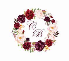 Claudia e Jose August Wedding, Fall Wedding, Dream Wedding, Wedding Colors, Wedding Flowers, Wedding Preparation, Floral Border, Floral Wedding Invitations, Floral Watercolor