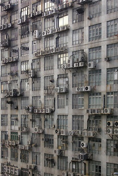 29 New ideas for apartment building facade hong kong Michael Wolf, Bg Design, Facade Design, Wolf Photography, Building Facade, Building Architecture, Urban Life, Brutalist, Abandoned Places