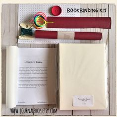 Longstitch binding journal kit ! 📓 📓📓
