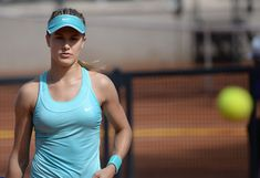 Joe Dorish Sports: Great Photos of Canadian Tennis Star Eugenie Bouchard in 2018.... Womens Workout Outfits, Sport Outfits, Quebec, Eugenie Bouchard, Workout Clothes Cheap, Ana Ivanovic, Sports Personality, Plus Size Workout, Tennis Elbow