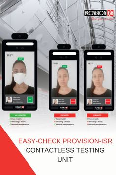 It's easy to install onto an automated door and will ensure that your employees are that extra bit safer.  Get in contact with us for more information! Security Products, Nanny Cam, Alarm System, It's Easy, The Unit, Face, The Face, Faces