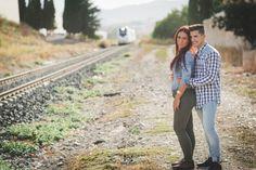 El tren #love #novia #boda #fotosdeboda #wedding #parejas #amor