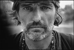 Dennis Hopper on the set of Apocalypse Now, Pagsanjan, Philippines, 1976