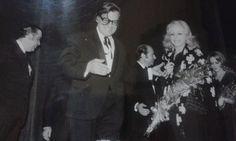 Ο Γιάννης Πετροπουλάκης με την Μιράντα Κουνελάκη