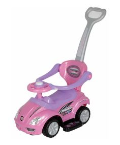 Take a look at the Pink 3-in-1 Push Car on #zulily today!