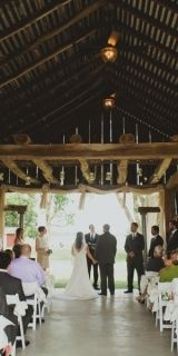 The Farmhouse Weddings in Nappanee Indiana. #rusticsetting