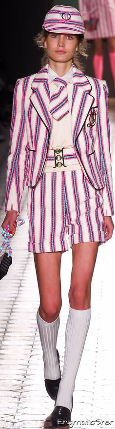 DO NOT ASPIRE TO LOOK AS THIN AS THIS! Anorexic And Boney Legs Are Neither Healthy Nor Flattering!~ Olympia Le-Tan Spring Summer 2015 Ready-To-Wear