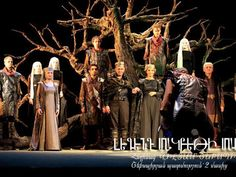 The Gabriel Sundukyan National Academic Theatre of Armenia offer their take on King John on their first visit to the UK.