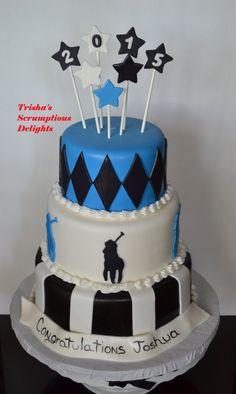 Cake by Patricia Stanish Graduation