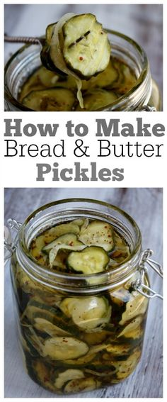 How to Make Bread and Butter Pickles - one of the most popular recipes of all time : recipegirl How To Make Bread, Food To Make, Do It Yourself Food, Bread & Butter Pickles, Homemade Bread And Butter Pickles Recipe, Bread N Butter Pickle Recipe, Canning Pickles, Homemade Pickles, Most Popular Recipes