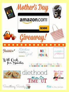 Mothers Day Amazon Gift Card Graphic Nacho Casserole + $300 Amazon Gift Card GIVEAWAY!