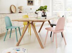 Cuisine et chaise scandinave