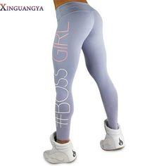 Women #Boss Girl fitness leggings