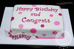 Here's a sheet cake covered in fondant and decorated with fondant ...