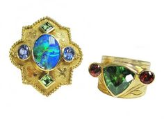 Rings by Paula Crevoshay