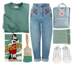 """""""paint this town"""" by mae-lia ❤ liked on Polyvore featuring Blair, Miss Selfridge, adidas, Décor 140 and Fjällräven"""