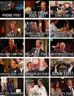 The highest of fives...