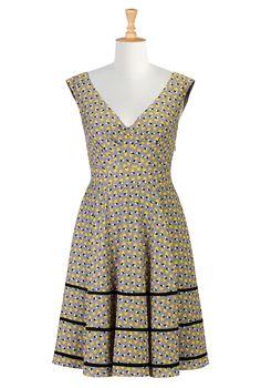 Shop womens long sleeve dresses - Women's Dresses & Tops in Misses, Plus, Petite & Tall | eShakti.com
