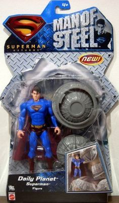 Daily Planet Superman Action Figure - 2007 Superman Returns Man of Steel Series @ niftywarehouse.com #NiftyWarehouse #Superman #DC #Comics #ComicBooks