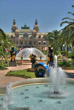 Jardin du Casino - Monte Carlo