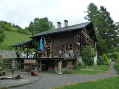 Chalet Martin, a nice backpackers hostel @ Gyron, Switzerland