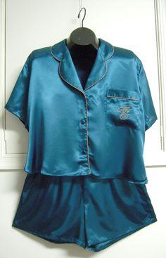 Victoria Secret Sleep Shorts | Victoria's Secret Sleep Set Shorts Shirt Teal ... | I'm Selling on Ad ...
