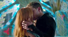 "WARNING: The following contains spoilers from ""Major Arcana,"" Tuesday's episode of Shadowhunters.    It finally happened! After weeks of building tension — and torturing shippers — Shadowhunters' central couple, Jace and Clary, locked lips."