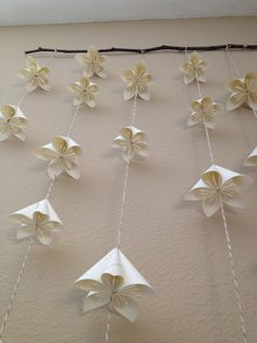 Oragami Wall piece. A Whimsy Willow: A Touch of Pretty
