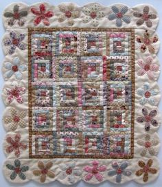 Little bitty quilt seen on Jeanneke s Blog House Quilts, Log Cabin Quilts,  Small Quilts e596ba647959