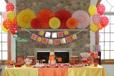 Love these ideas for party! What a great take on doing a themed, but not canned party!