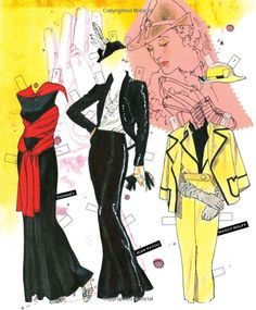 Couture Paper Doll Book: Alluring Feminine Fashions of The 1930s: Jim Howard, Jenny Taliadoros: 9781935223566: Amazon.com: Books